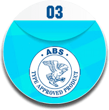 It is ABS logo for certifying products in marine and offshore environment.