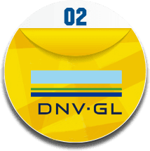 This is DNV certificate logo about products and manufacturers.
