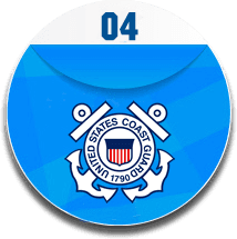 It is a logo for United States coast guard.