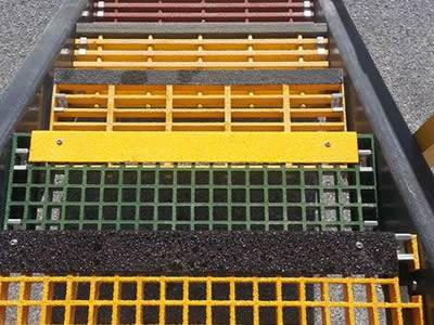 Frp Stair Treads Provide Stairway Safety Entry And Exit