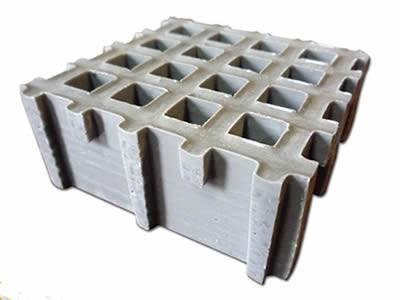 This is one gray mini grating with concave surface.